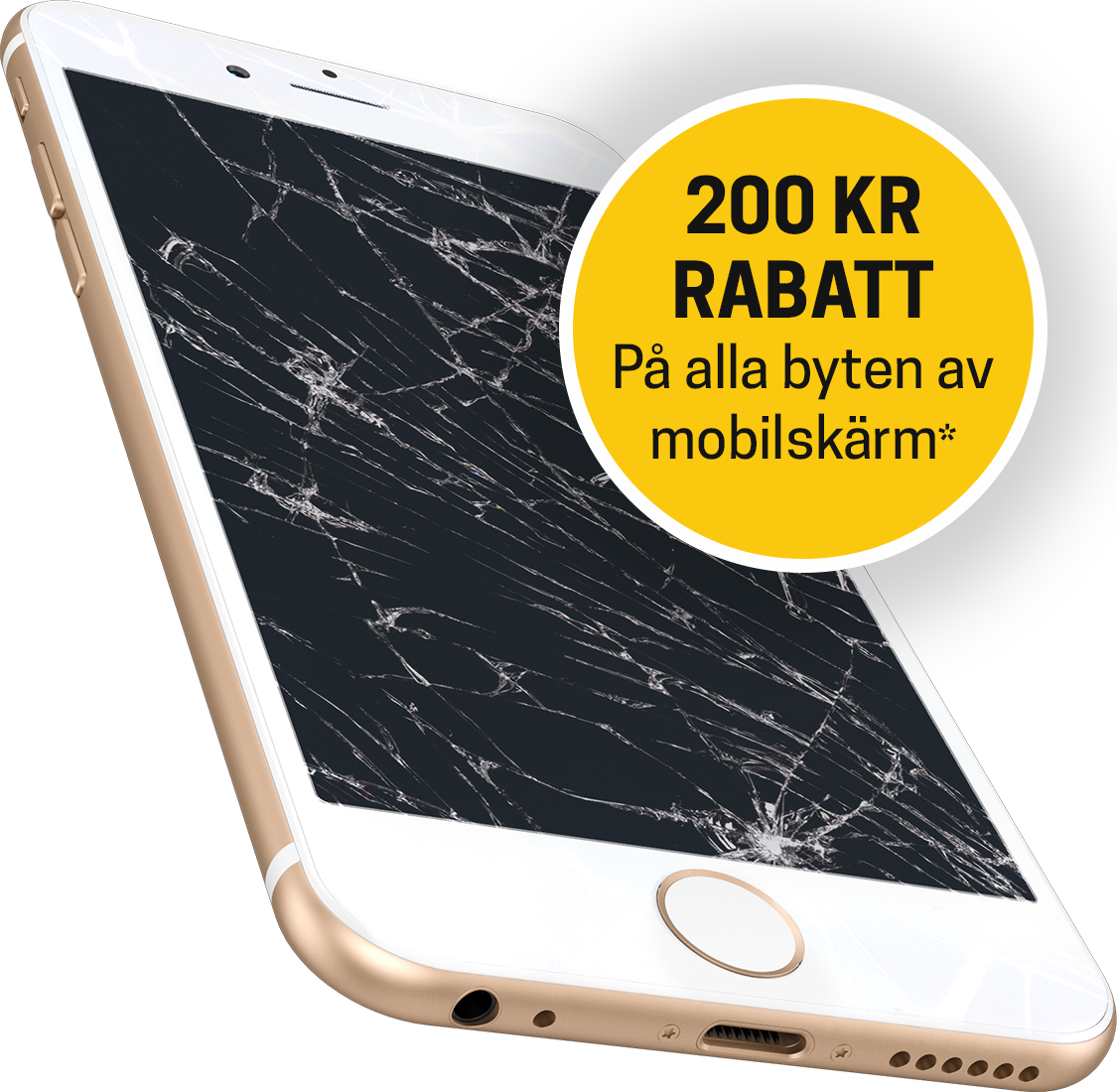 mobilskärm byte iphone rabatt